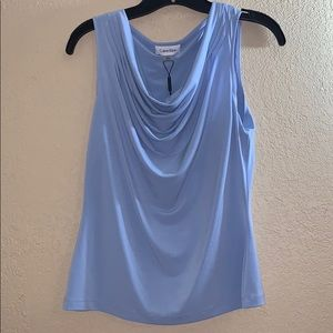 Calvin Klein light blue blouse